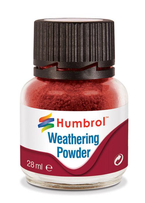 Humbrol AV0006 Iron Oxide Weathering Powder 28ml Bottle Model Weathering  T48Post