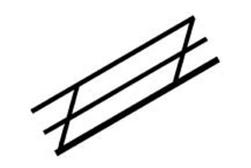 Plastruct Styrene MRT-125 90846 Pack 5 x 3.2mm x 250mm Lengths Triangular Rod