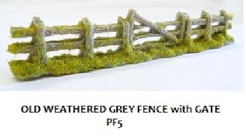 Modelismo ferroviario Otros Javis PF9 Dark Brown Sleeper Fencing 130mm 00 Gauge = 1/76 Scale 1st Class Post