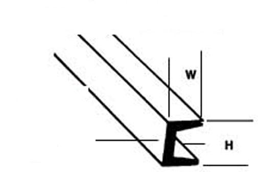 90625 4 x 9.5mm x 380mm Lengths SquareTubes 1st Plastruct Styrene STFS-12