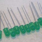 2K555-10-x-5mm-LED-12volts-Green-LEDs-Light-Emitting-Diodes-1st-Class-Post-361377674845-2