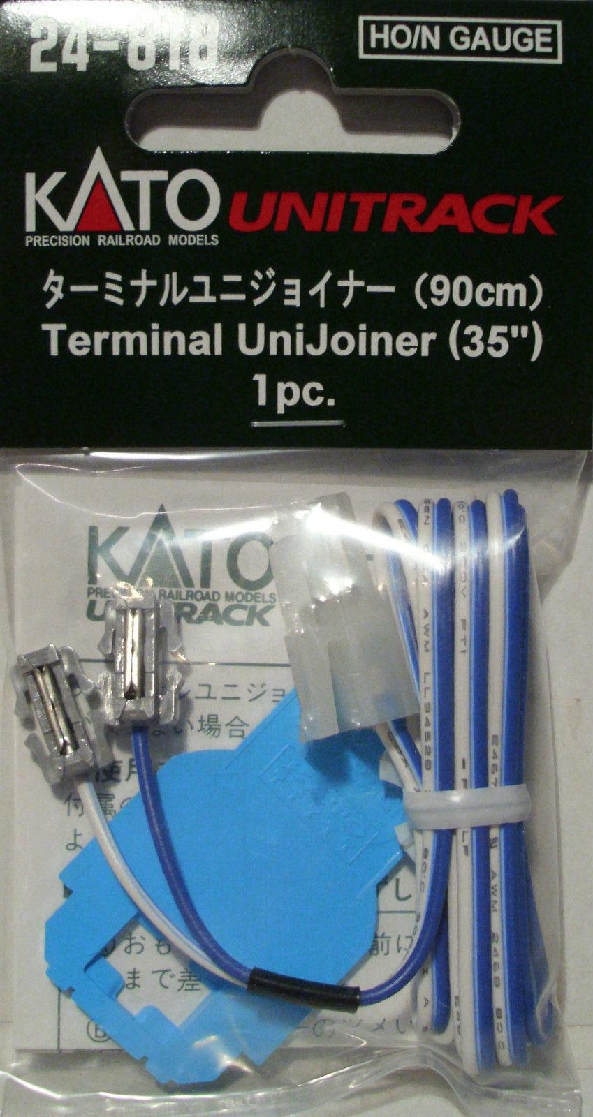 Kato 24 818 Unijoiner Terminal Power Leads 90cm N Ho Gauges Track Wiring