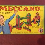 1950-Vintage-Meccano-Construction-Set-8-Unused-Still-Wired-into-Original-Box-360952142843-2
