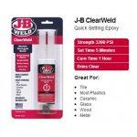 JB-J-B-Weld-50112-ClearWeld-5-Minute-Quick-Setting-Epoxy-1st-Class-Post-121763552984-2